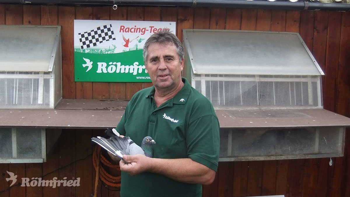 Kurt Artz vom Röhnfried Racing Team