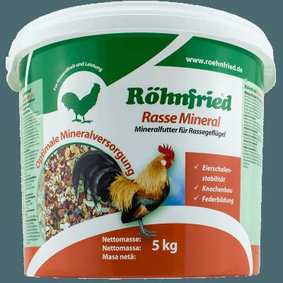 Röhnfried Rasse Mineral für Rassegeflügel