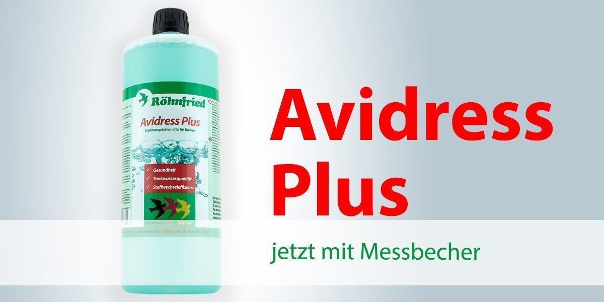 Avidress Plus – jetzt mit Messbecher