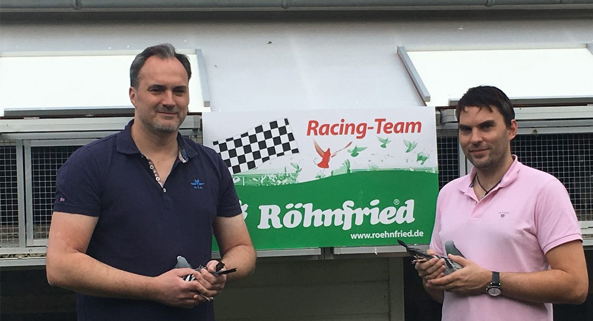 Frank Book About Racing Preparation Supply Of His Young Pigeons Racing Season 2019 Part 3 Rohnfried