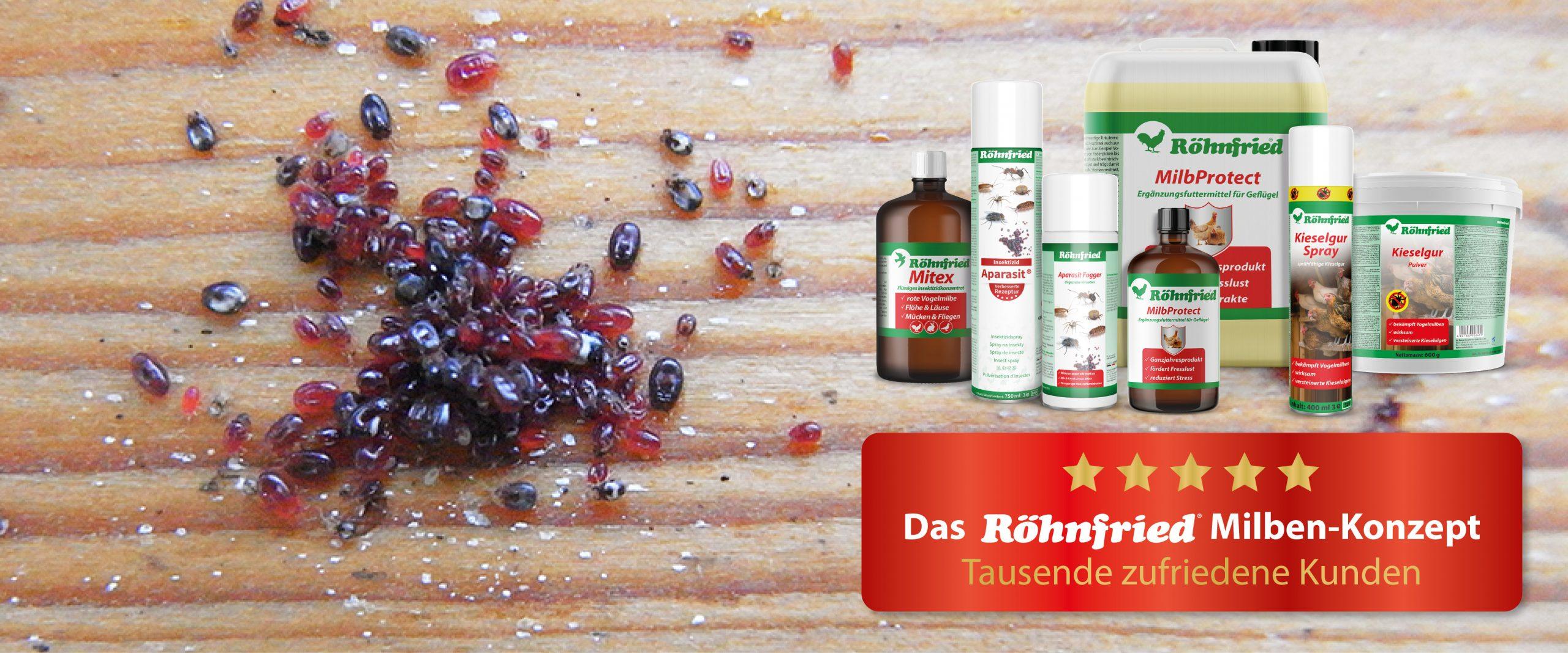 Milbenprodukte von Röhnfried