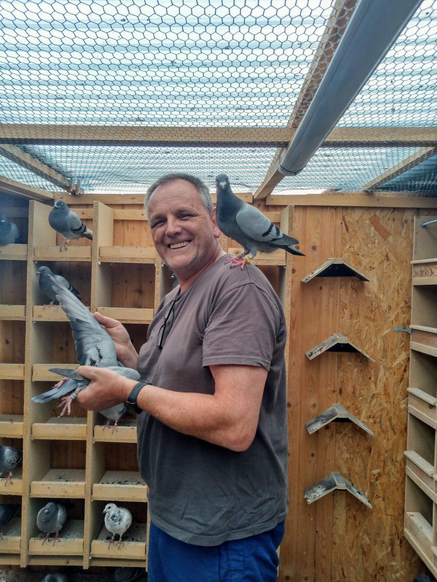 Familie-Kulka-bei-ihren-Tauben